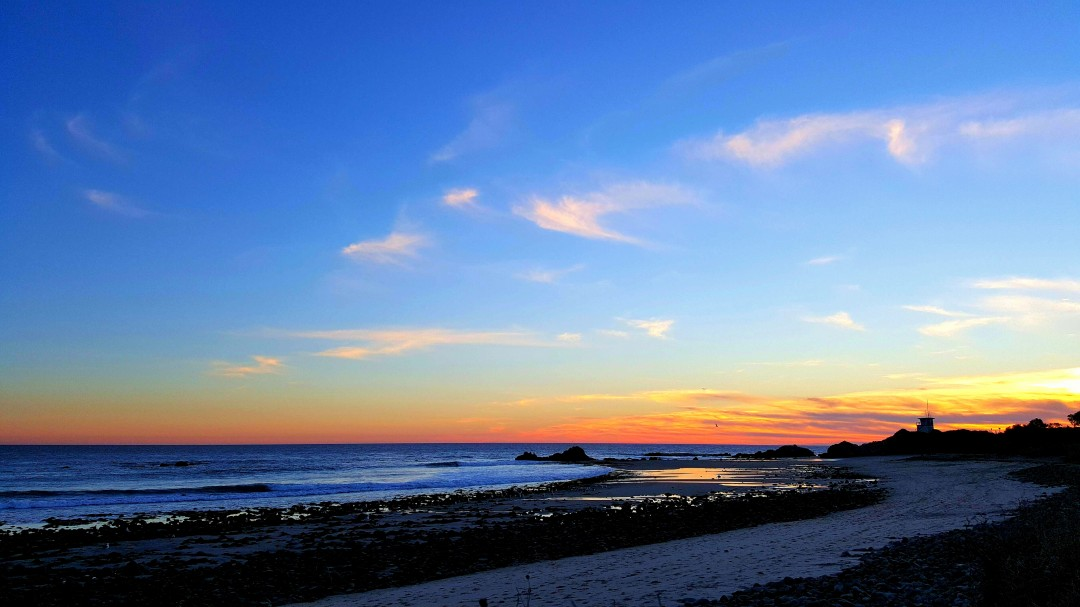 Leo Carrillo Blue Sunset
